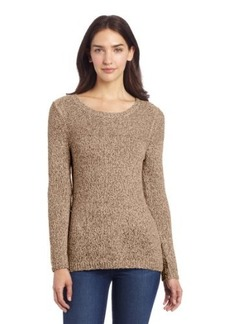 Calvin Klein Women's Marled Pullover Sweater