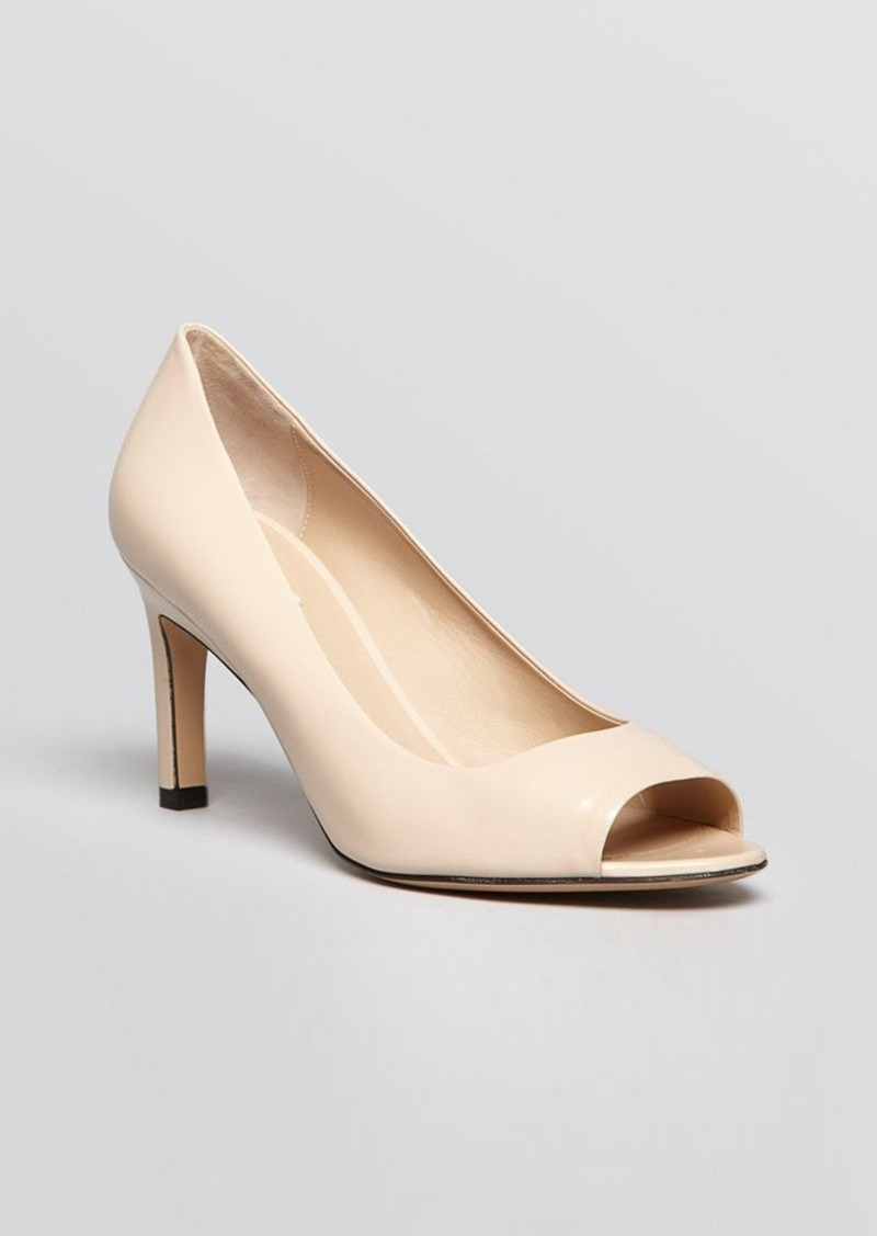 Max Mara Open Toe Pumps - Viborg High Heel