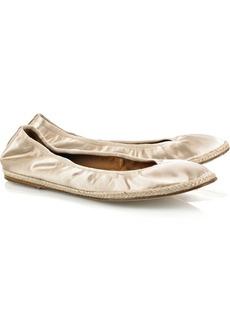 Lanvin Satin ballet flats