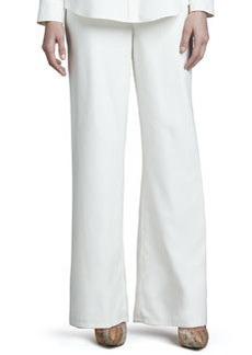 Go Silk Fuji Silk Full-Leg Pants, Women's