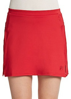 FILA Vented Perforated Paneled Performance Skort