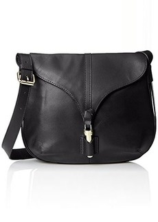 Foley + Corinna Arrow Crossbody Messenger Bag, Black, One Size