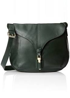 Foley + Corinna Arrow Crossbody Messenger Bag, Evergreen, One Size