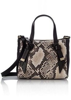 Foley + Corinna Bandeau Mini Satchel Cross Body Bag, Diamond Snake Combo, One Size