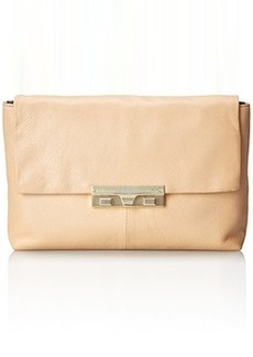 Foley + Corinna Bea Clutch Cross Body Bag, Biscuit, One Size
