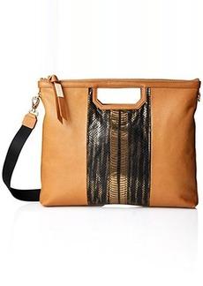 Foley + Corinna Beholden Shopper Shoulder Bag, Bronze Snake Combo, One Size