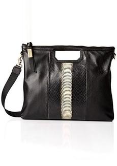 Foley + Corinna Beholden Shopper Shoulder Bag, Chalk Snake Combo, One Size