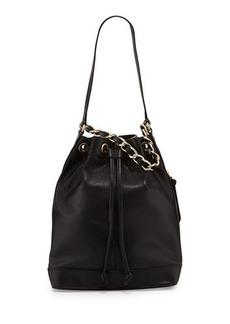 Foley + Corinna Billy Leather Bucket Shoulder Bag
