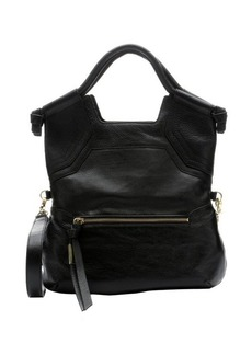 Foley + Corinna black leather 'Essential City' convertible tote bag