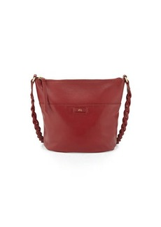 Foley + Corinna Cable Leather Bucket Bag