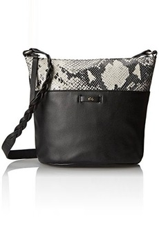 Foley + Corinna Cable Mini Bucket Cross Body Bag, Diamond Snake Combo, One Size