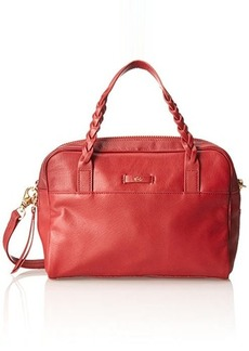 Foley + Corinna Cable Satchel Top Handle Bag, Rouge, One Size