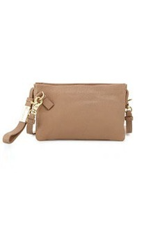 Foley + Corinna Cache Leather Crossbody/Wristlet, Putty