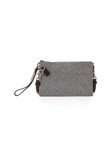 Foley + Corinna Cache Stingray-Print Leather Crossbody Bag