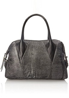 Foley + Corinna Calypso Satchel Top Handle Bag, Lizard Combo, One Size