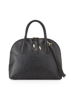 Foley + Corinna Cassis Leather Satchel Bag