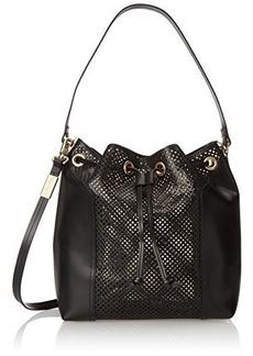 Foley + Corinna Clio Bucket Shoulder Bag, Black, One Size