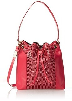 Foley + Corinna Clio Bucket Shoulder Bag, Rose, One Size