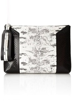 Foley + Corinna Clio Clutch, Twilight Lizard, One Size