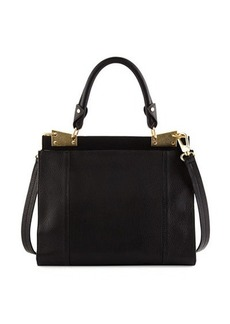 Foley + Corinna Dione Leather Satchel Crossbody Bag