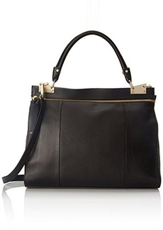 Foley + Corinna Dione Messenger Top Handle Bag, Black, One Size