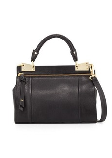 Foley + Corinna Dione Mini Leather Messenger Bag