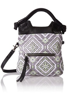 Foley + Corinna Disco City Cross Body Bag, Neon Weave, One Size