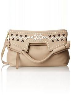 Foley + Corinna Embellished Weave Mid City Top Handle Bag, Natural, One Size