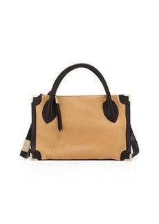 Foley + Corinna FC Framed Satchel Bag, Baja