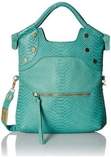 Foley + Corinna FC Lady Convertible Shoulder Bag, Jade Snake, One Size
