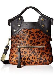 Foley + Corinna FC Lady Tote Cross Body Bag, Leopard Hair Calf, One Size