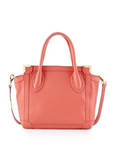 Foley + Corinna Framed Leather Mini Shopper Bag