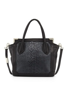 Foley + Corinna Framed Mini Leather Shopper Bag