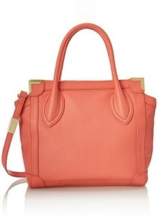 Foley + Corinna Framed Mini Shopper Top Handle Bag, Coral, One Size