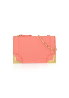 Foley + Corinna Framed Petite Leather Crossbody Bag