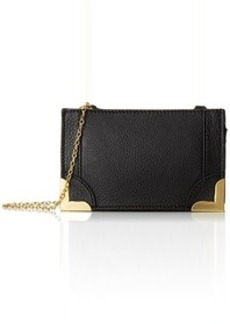 Foley + Corinna Framed Wristlet Clutch, Black, One Size