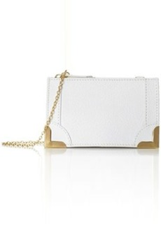 Foley + Corinna Framed Wristlet Clutch, White, One Size