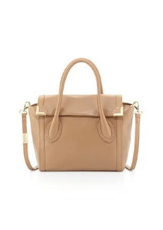 Foley + Corinna Frances Medium Leather Satchel, Taupe
