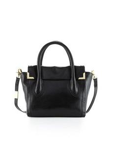 Foley + Corinna Frankie Leather Flap Satchel Bag