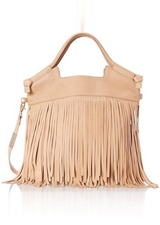 Foley + Corinna Fringed City Cross Body Bag, Biscuit, One Size