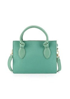 Foley + Corinna Gabby Knot Leather Crossbody Bag, Aqua