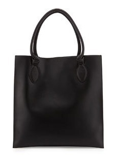 Foley + Corinna Gabby Knot Leather Tote Bag, Black