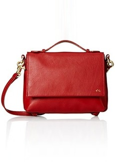 Foley + Corinna Gigi Flap Cross Body Bag, Rouge, One Size