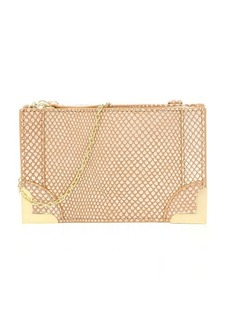 Foley + Corinna gold dust grained leather 'Framed Petite' crossbody bag