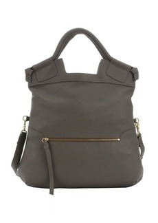 Foley + Corinna grey leather 'Mid City' convertible tote