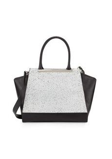 Foley + Corinna Jackson Speckled Structured Leather Tote Bag
