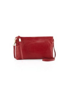 Foley + Corinna Kit Small Leather Crossbody Bag, Red