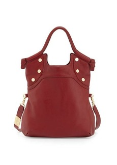 Foley + Corinna Lady Fold-Over Leather Tote Bag