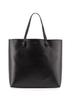 Foley + Corinna Large Leather Knot Tote Bag, Black