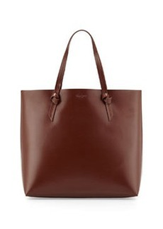 Foley + Corinna Large Leather Knot Tote Bag, Brown